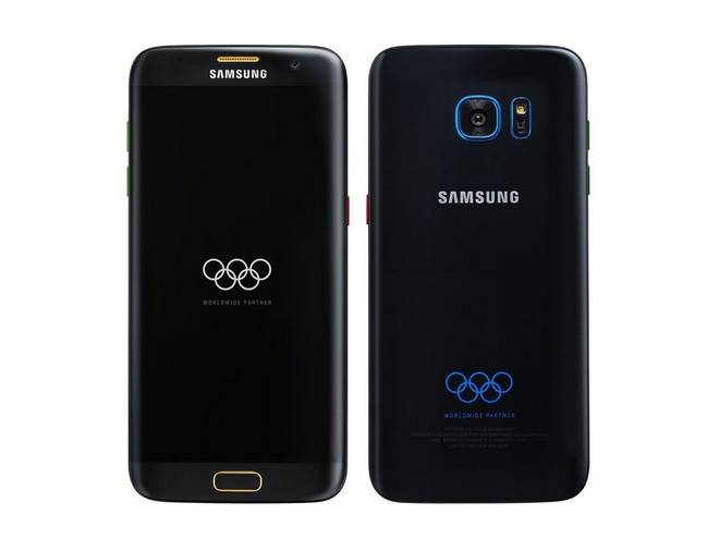 Sau 'nguoi doi', Galaxy S7 edge co them ban Olympic hinh anh