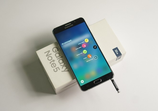 Galaxy Note 5 la chiec Android cao cap pho bien nhat hinh anh