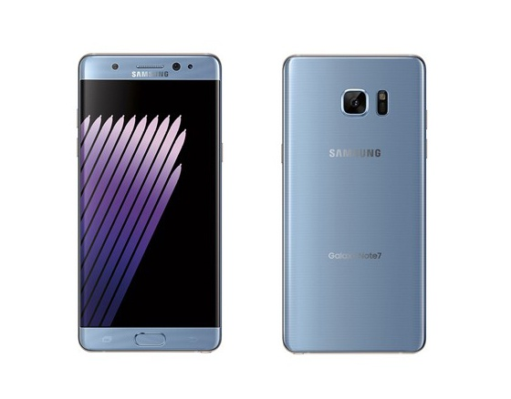 Galaxy Note 7 Blue Coral gay sot anh 1