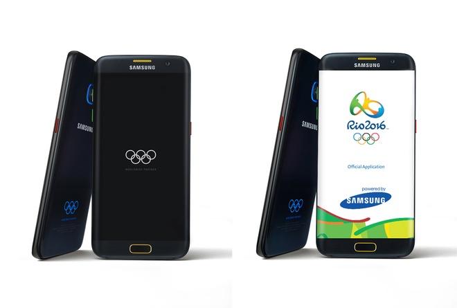 Galaxy S7, S7 edge ban Olympic ra mat hinh anh
