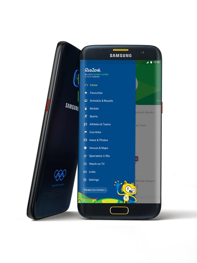 Galaxy S7, S7 edge ban Olympic ra mat hinh anh 2