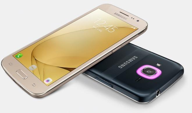 Galaxy J2 2016 ra mat voi Smart Glow, gia 145 USD hinh anh 1
