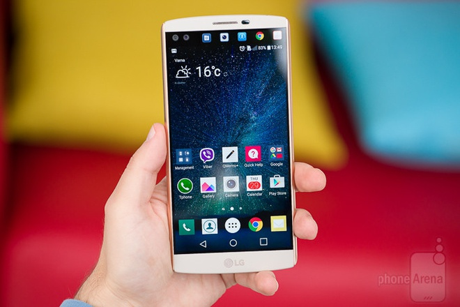 Smartphone ke nhiem LG V10 ra mat thang 9 hinh anh