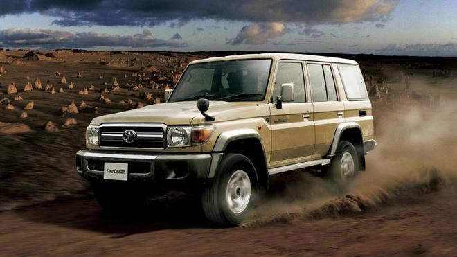 Quan doi My chon Toyota Land Cruiser va Ford Ranger hinh anh