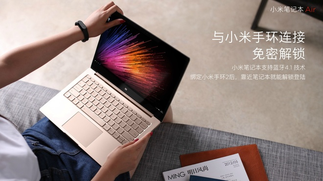 Xiaomi Mi Notebook Air ra mat anh 3