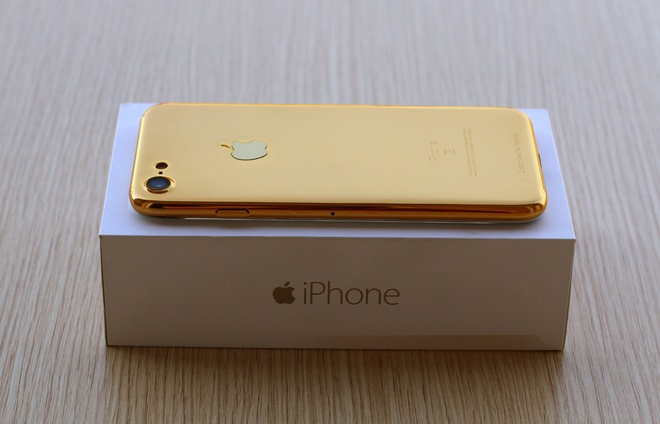 Ban mau iPhone 7 ma vang xuat hien tai Viet Nam hinh anh 1