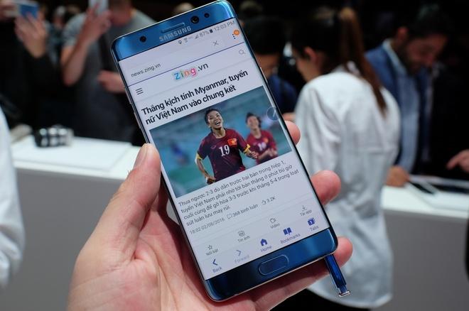 Galaxy Note 7 ra mat voi man hinh cong, quet mong mat hinh anh