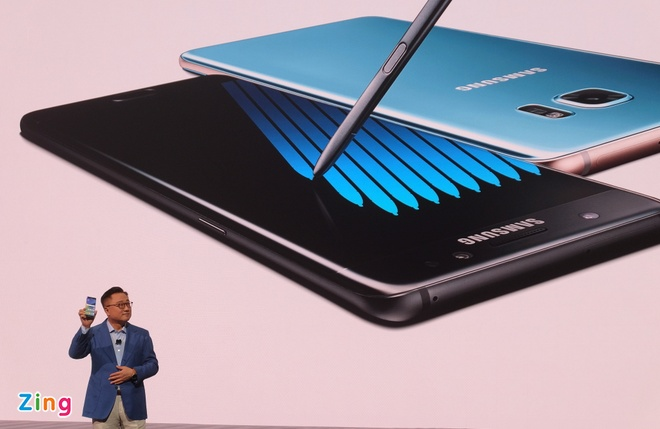 Galaxy Note 7 ra mat voi man hinh cong, quet mong mat hinh anh 1