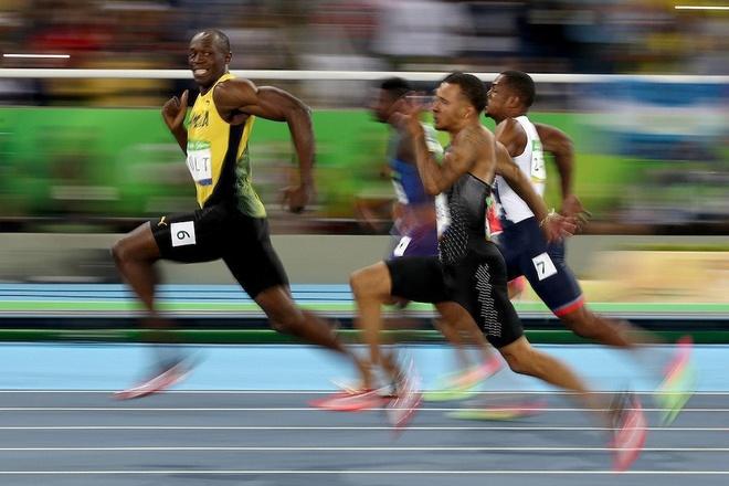 buc anh gay bao cua Usain Bolt anh 1