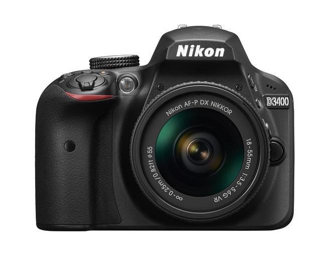 Nikon gioi thieu may anh D3400 cho nguoi moi tap choi hinh anh