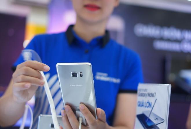 Galaxy Note 7 chinh thuc ban ra tai Viet Nam hinh anh