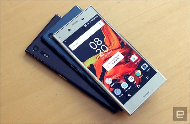 Sony tung Xperia XZ voi kieu dang moi, nhan manh vao camera hinh anh