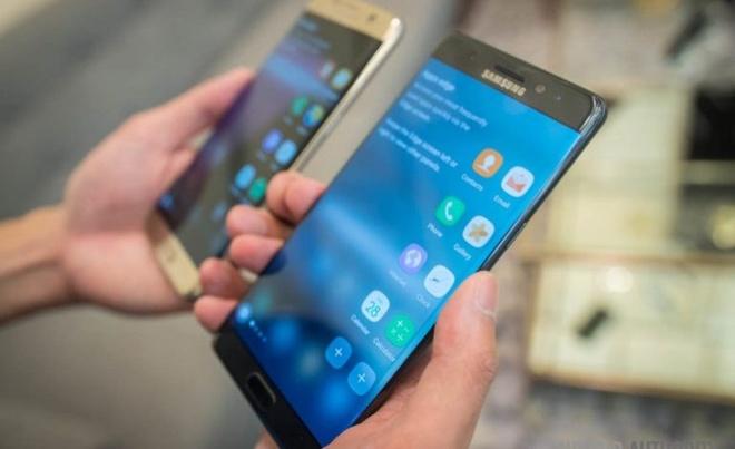 Samsung bat dau ban dien thoai tan trang tai My hinh anh