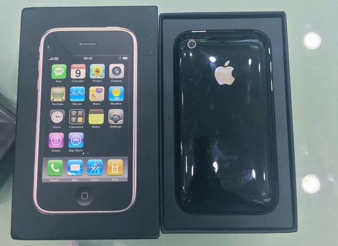 iPhone 3G hang suu tam gia 50 trieu tai Viet Nam hinh anh