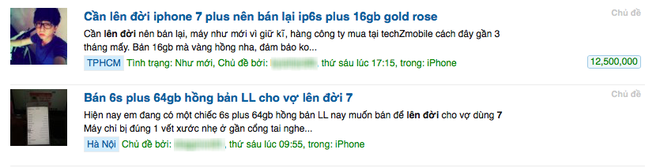 rao ban iPhone 6S tang vot anh 1