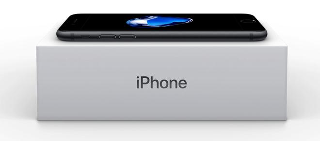 Anh mo hop iPhone 7 dau tien truoc ngay len ke hinh anh