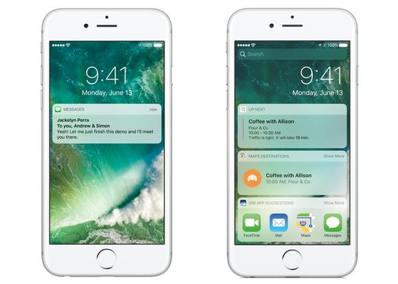 thay doi tren iOS 10 anh 1