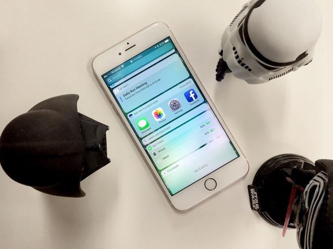 10 thay doi lon nhat tren iOS 10 hinh anh