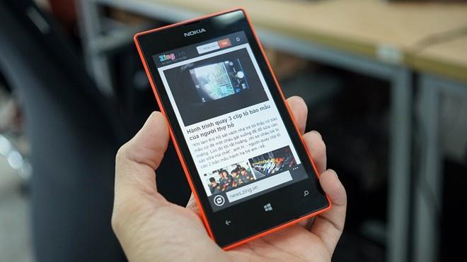 Lumia 525 giam gia con 800.000 dong hinh anh