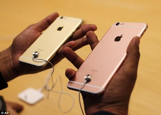 iPhone cho den la hang hot tai Argentina hinh anh 1