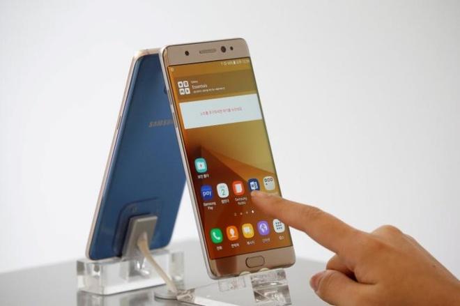 Samsung: Note 7 phat no tai Trung Quoc khong phai do pin hinh anh