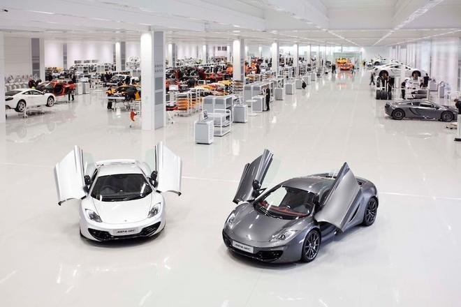 Apple dam phan mua lai hang xe McLaren hinh anh