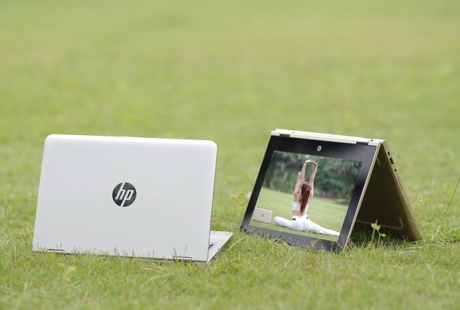 Laptop bien hinh gia 13 trieu cua HP ve Viet Nam hinh anh