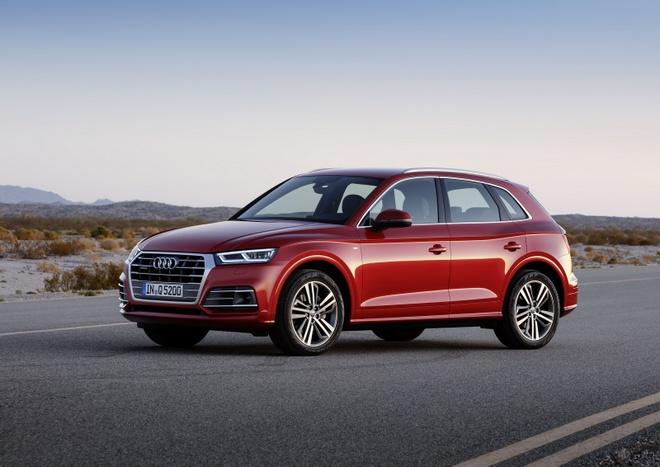 Audi Q5 2017 dang the thao hon, gia tu 50.000 USD hinh anh