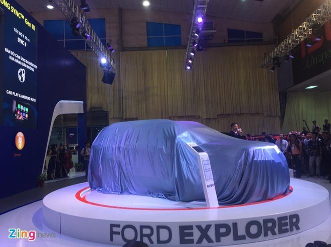 Vietnam Motor Show 2016: Nhieu xe hot nhung thieu gia vi hinh anh 4