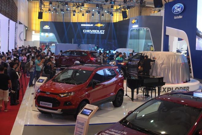 Vietnam Motor Show 2016: Nhieu xe hot nhung thieu gia vi hinh anh 2