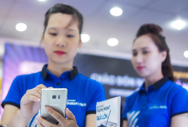 Samsung keu goi ngung su dung Note 7 hinh anh