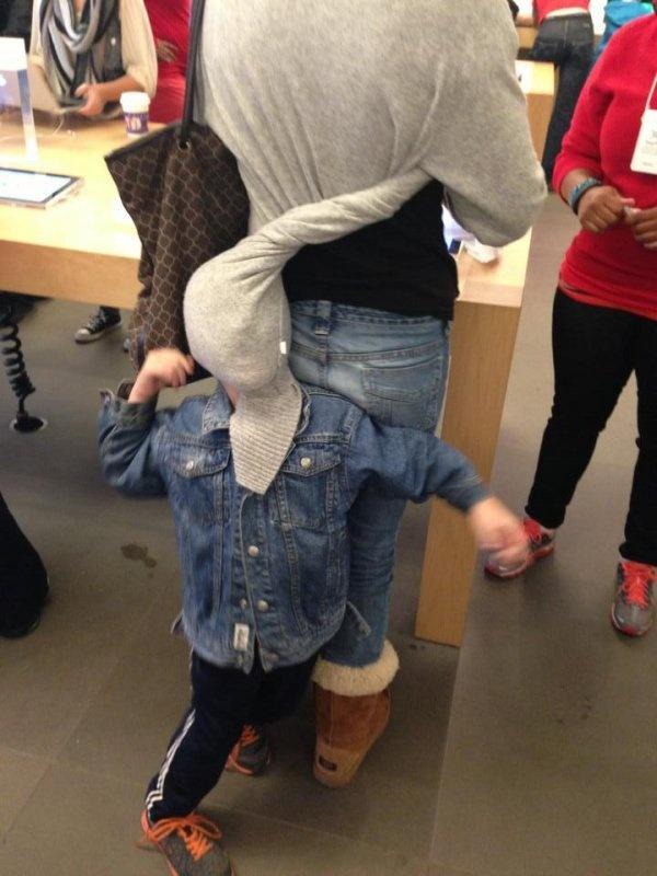 Nhung hinh anh hai huoc chi co tai Apple Store hinh anh 5