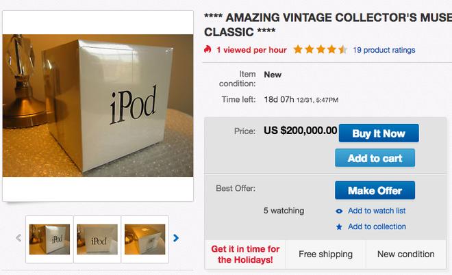 iPod doi dau gia 200.000 USD anh 1