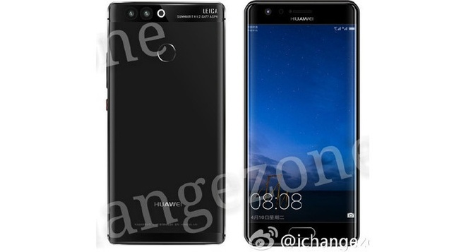Huawei P10 se co man hinh cong, sac khong day hinh anh