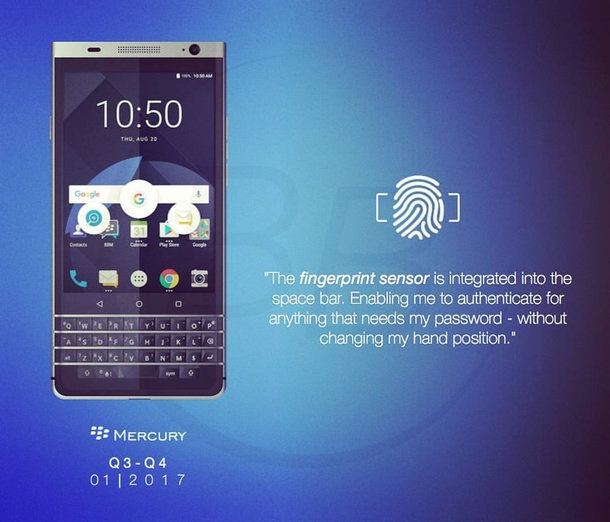 TCL xac nhan ra mat smartphone BlackBerry tai CES 2017 hinh anh 1