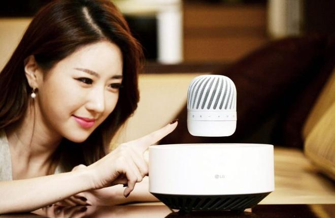LG ra mat loa Bluetooth lo lung hinh anh