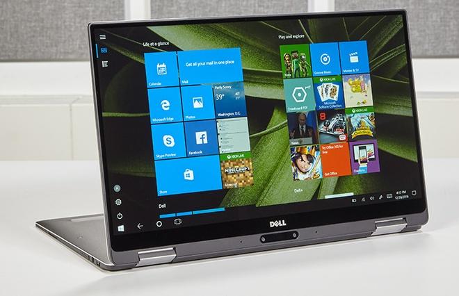 Dell XPS 13 them ban man hinh 2-trong-1 hinh anh 1