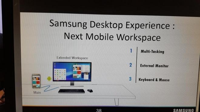 Samsung Galaxy S8 se co tinh nang bien hinh thanh PC hinh anh 1