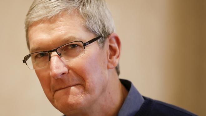 Tim Cook that thu do Apple khong dat doanh so hinh anh 1
