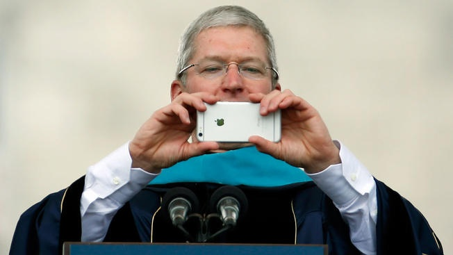 Tim Cook: 'Chiec iPhone tot nhat con chua ra mat' hinh anh 1