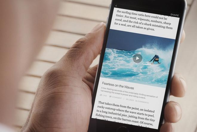 Facebook bat dau cho hien quang cao tren video hinh anh 1