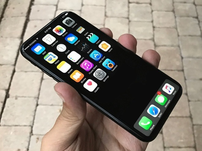 iPhone dung khung bang thep khong gi anh 1