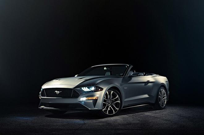 Ford Mustang 2018 mui tran ra mat anh 1