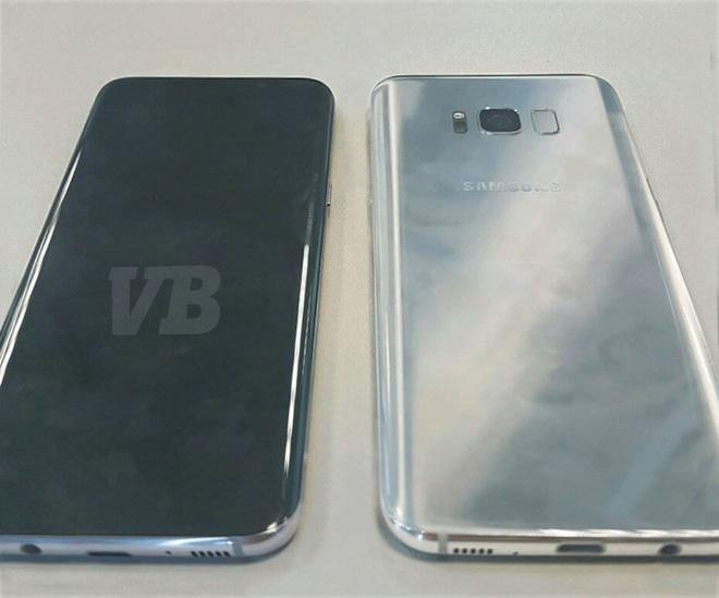 Xuat hien anh thuc te cua Galaxy S8 hinh anh 1