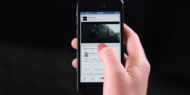 mac dinh phat am thanh kem video tren Facebook anh 1