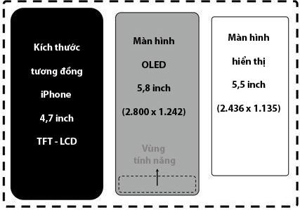 iPhone 8 se co 'vung tinh nang' thay the nut Home hinh anh