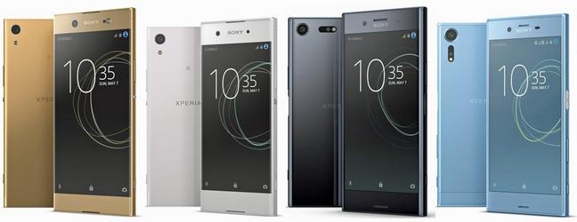 4 smartphone Xperia 2017 lo dien truoc gio ra mat hinh anh 1