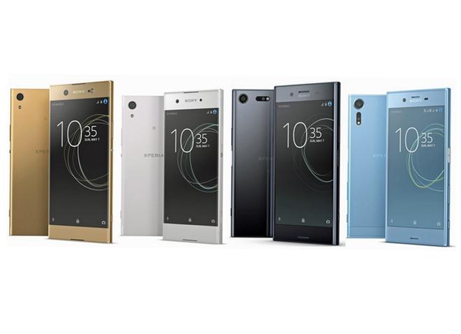 4 smartphone Xperia 2017 lo dien truoc gio ra mat hinh anh