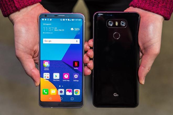 Anh thuc te LG G6: Ong vua dien thoai Android moi? hinh anh