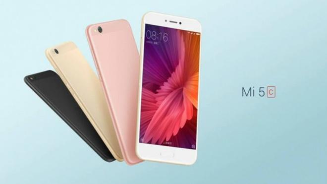 Xiaomi ra mat Mi 5c voi chip tu san xuat hinh anh